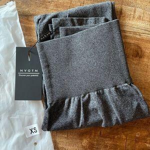 NVGTN Seamless Contour Leggings - Black/Grey XS
